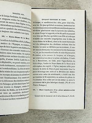 Nouveau Mois de Marie , tout en histoires - Recueil de faits et de récits contemporains et ...