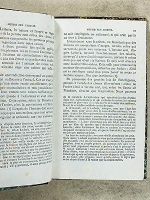 Extraits de la Théodicée , avec introduction et notes par M. Fouillée: LEIBNIZ...