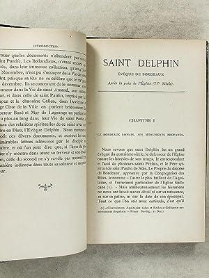 Vie de St-Delphin [ Saint Delphin ]: R. P. MONIQUET (.S J.)