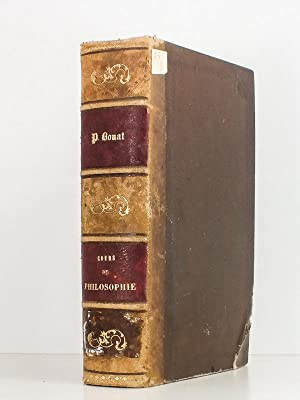Cours de Philosophie , complément adapté au programme officiel de 1885: P. BOUAT