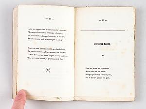 Mélanges poétiques [ Edition originale ]: RANGEMARD de la Croix-Rousse, Noël ; [ ...