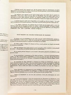 Madiran [ Histoire de la commune de Madiran, Hautes-Pyrénées ] Anecdotes, faits ...