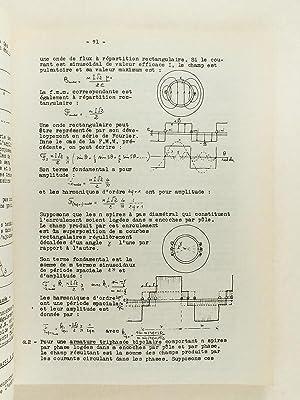 Cours d'électrotechnique 7e Partie. Ecole Centrale des Arts & Manufactures, 2e ann&...