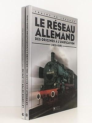 Lot de 2 titres sur les trains en Allemagne ] Le réseau allemand, des origines à l&#...