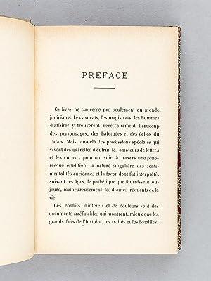 La Plaidoirie Sentimentale en France. [ Edition originale ]: MAREILLE, Vital