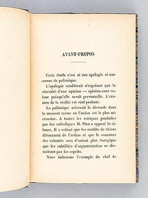 La Lutte par l'Association. L'Action Libérale Populaire. [ Edition originale ]: ...