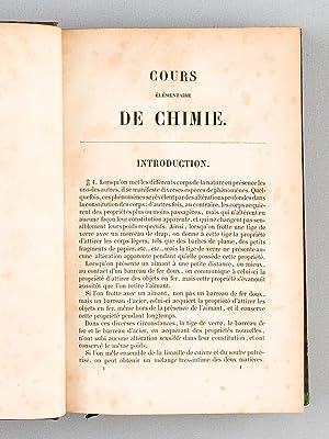 Cours élémentaire de Chimie (4 Tomes - Complet): REGNAULT, M. V.