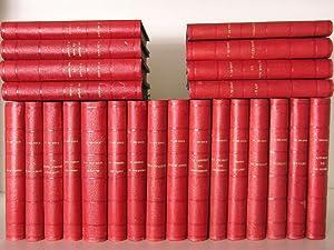 Lot de 24 Titres de la collection: KOCK, Paul de
