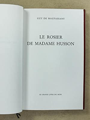 Lot de 7 vol. coll. Grand Livre du Mois ] La maison Tellier ; La main gauche ; Yvette ; Miss ...