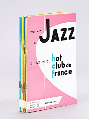 Tout sur le Jazz. Bulletin du Hot-Club: PANASSIE, Hughes ;
