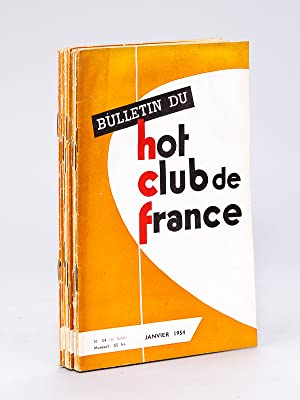 Bulletin du Hot-Club de France. N° 34 - 35 - 36 - 37 - 38 - 39 - 40 - 41 - 42 - 43 : Ann&eacute...
