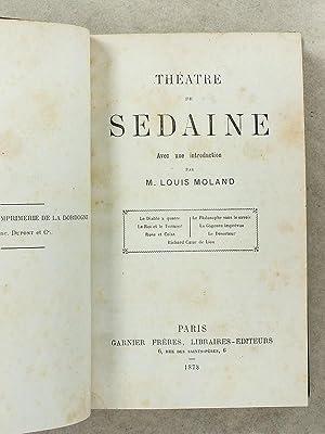 Théâtre de Sedaine - Avec une introduction par M. Louis Moland - Le diable à ...