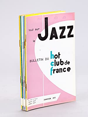 Tout sur le Jazz. Bulletin du Hot-Club de France. N° 204 - 205 - 206 - 207 - 208 - 209 - 210 - 21...