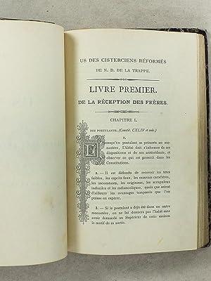 US de l'Ordre des Cisterciens Réformés de N. D. de la Trappe. Préc&eacute...