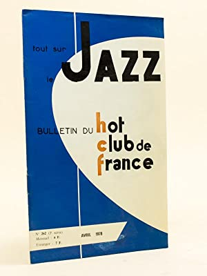 Tout sur le Jazz. Bulletin du Hot Club de France. n° 262- Avril 1978 [ Avec : Harold