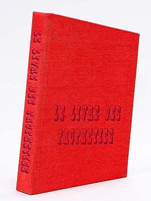 Le Livre des Prophéties. [ Livre dédicacé par l'auteur ]: CHARPENTIER, ...
