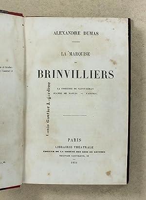 Lot de 6 Volumes ] Les Borgia. La Marquise de Ganges. Les Cenci - La Marquise de Brinvilliers. La ...