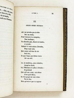 A travers le Siècle. Poésies.: BELLOT, Henri