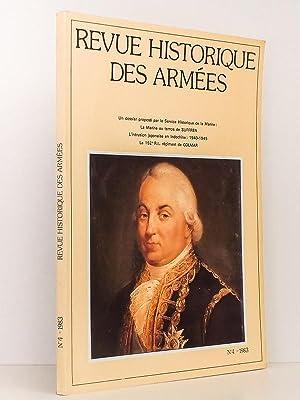 Revue Historique des Armées N° 153 (: Revue Historique des