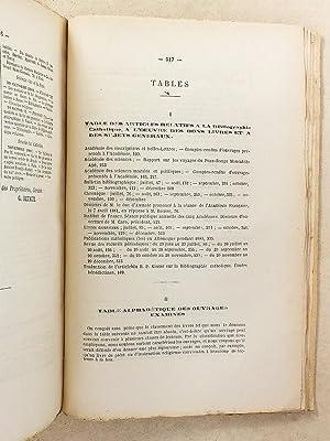 Bibliographie catholique , Tome LXIV ( 64 ) , Juillet à Décembre 1881 [ Bibliographie...