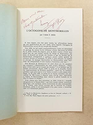 L'Octogone de Montmorillon ( Extrait du Bulletin de la Société des Antiquaires ...