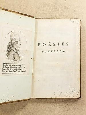 Poësies diverses par M. de La Montagne, auteur de plusieurs ouvrages dramatiques [ Poé...