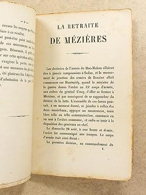 La retraite de Mézières effectuée par le 13e Corps d'Armée aux ...