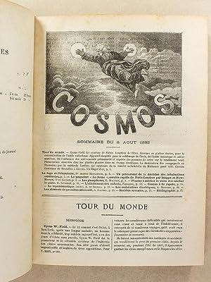 Le Cosmos , Revue des sciences et de leurs applications - Quarante et Unième Année , ...