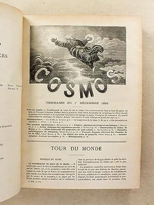 Le Cosmos , Revue des sciences et de leurs applications - Quarante-Quatrième Année , ...