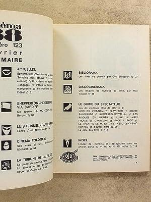 Cinéma 68 , Le guide du spectateur ( Année 1968 complète - 10 numéros )...
