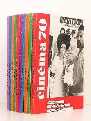 Cinéma 70 , Le guide du spectateur ( Année 1970 complète - 11 numéros )...