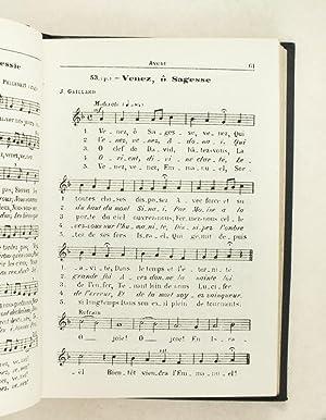 Recueil de Cantiques pour communautés et paroisses. [ Avec : ] Recueil de Motets pour ...