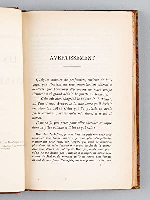 Les Soirées du Grammaire-Club [ Edition originale ]: BOULENGER, Jacques ; THERIVE, André