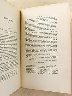 Oeuvres complètes - Tome cinquième ( 5 ) : Rome - IV. Le droit papal ( Deuième...