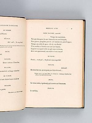 La Princesse lointaine. Pièce en quatre actes en vers.: ROSTAND, Edmond