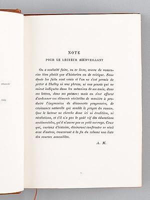 Ariel ou la vie de Shelley.: MAUROIS, André