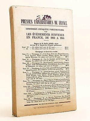 Revue d'Histoire de la Deuxième Guerre Mondiale. Troisième Année Juin ...