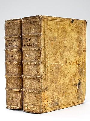 Chronyk van Vrankryk (2 Tomes - Complet). Door den Heer De Mezeray, raad, en Historieschryver des ...