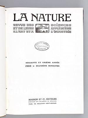 La Nature , revue des sciences et de leurs applications à l'art et à l'...