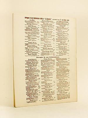 Poésie. Cahiers Mensuels Illustrés. 9e Année N° 11 - Novembre 1930 [ Dans ...