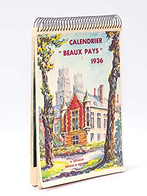 "Calendrier ""Beaux Pays"" 1936: ARTHAUD, B."