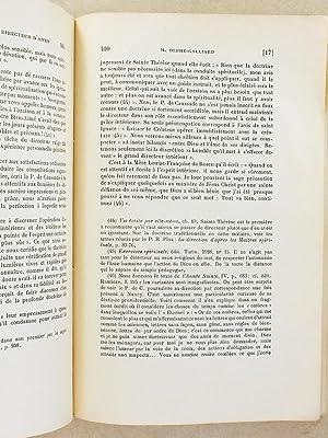 Le Père J.-P. de Caussade, Directeur d'Âmes [ extrait de la Revue d'Asc&...