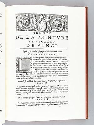 Traitté de la Peinture de Léonard de Vinci [ Traité de la Peinture ]: VINCI, ...