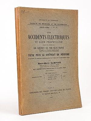 Les accidents électriques et leur prophylaxie sur un réseau de chemin de fer ...