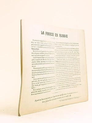 La France en Russie. Livraison 6 : L'ambassade de France à Saint-Pétersbourg [ ...