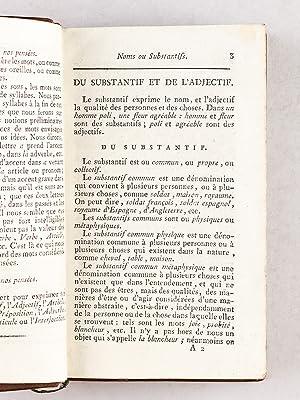 Principes généraux et particuliers de la Langue Françoise [ Française ]...