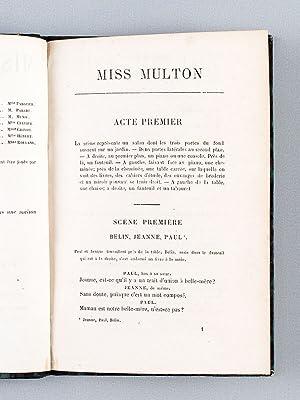 Miss Multon. Comédie en trois actes.: NUS, Eugène ; BELOT, Adolphe