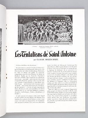 Les Tentations de Saint Antoine: ROGER-MARX, Claude