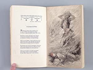 Poésies. Le Jasmin d'Argent Agen 1923. Discours de Marcel Prévost. Fernand de ...