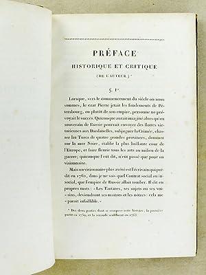 Histoire de Russie ( Histoire de l'Empire de Russie sous Pierre-Le-Grand ) [ Oeuvres compl&...